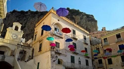 Atrani, one of the amazing towns along the Amalfi Coast