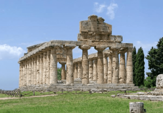 The Temple of Athena, Paestum