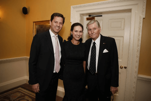 Tony Smurfit, Sharon Smurfit and Dr Michael Smurfit