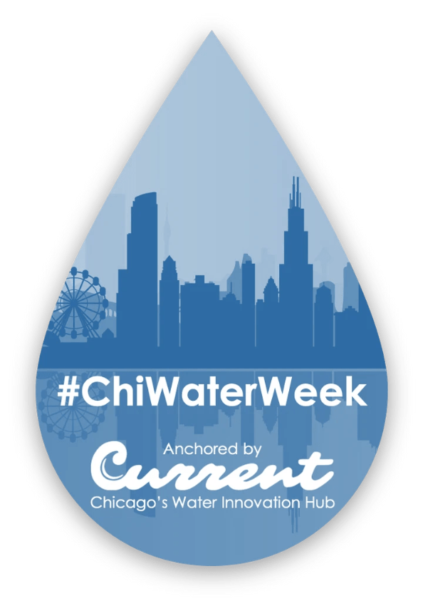 Alternate logo for Chicago Water Week