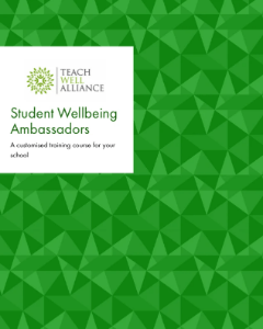 Student Wellbeing Ambassador Training