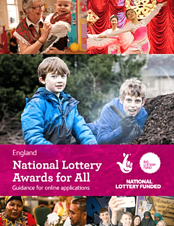 National Lottery Awards for All Guidance