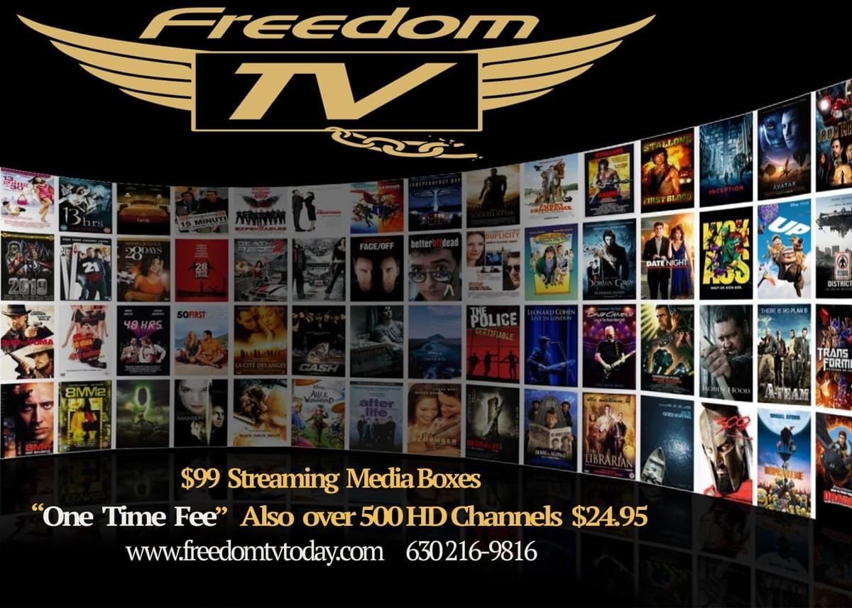 For activation code please send email to CustomerService @freedomtvtoday.com
