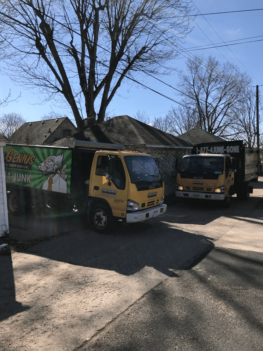 Electronics recycling in Fairbault, by Minnesota