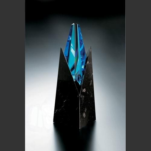 Blue Zenith Award Trophy