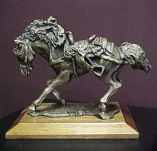 Bronco Award Trophy