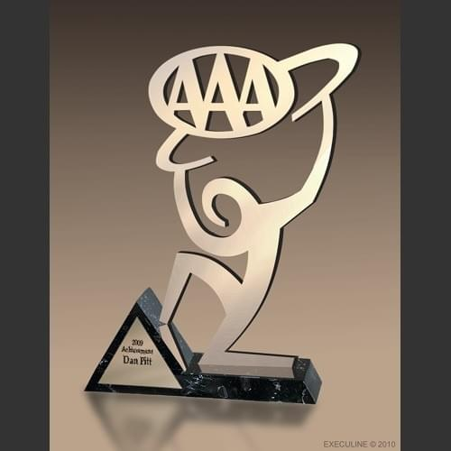 Champion AAA Award Trophy