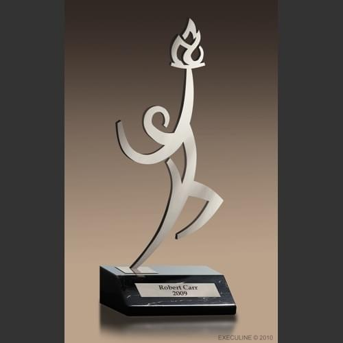 Champion Flame Award Trophy