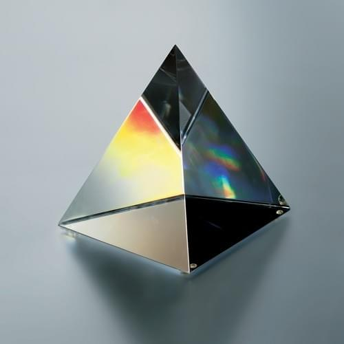 Crystal Pyramid Award Trophy