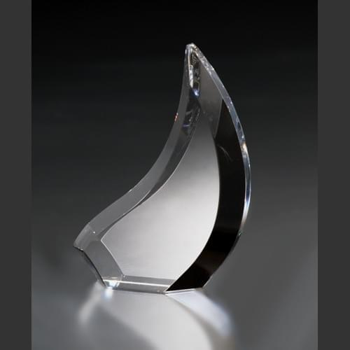 Crystal Sail Award Trophy