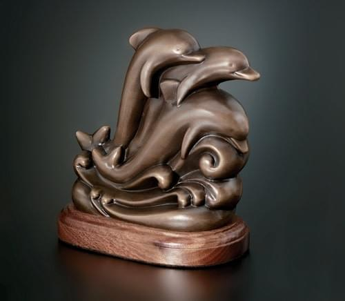Dolphins Award Trophy