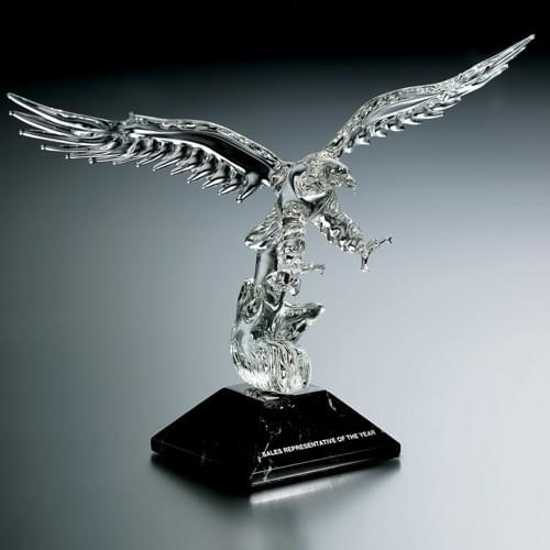 Elite Eagle Award Trophy