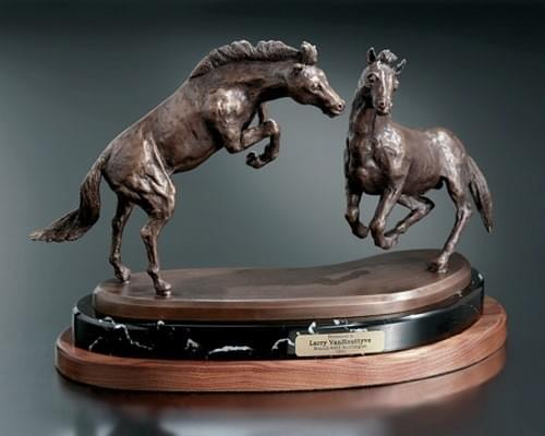 Fighting Stallions Award Trophy