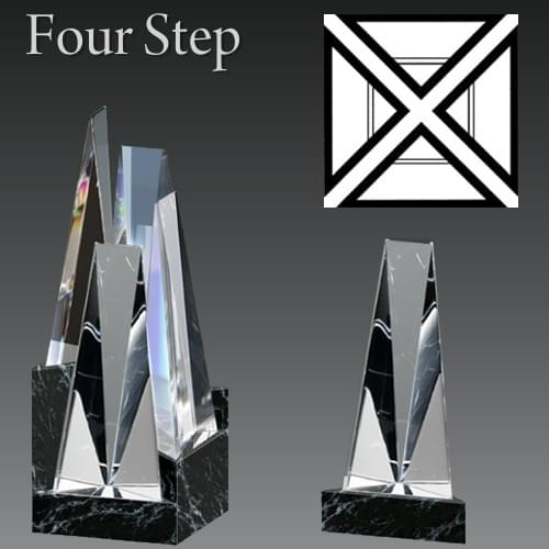 Four Step Award Trophy