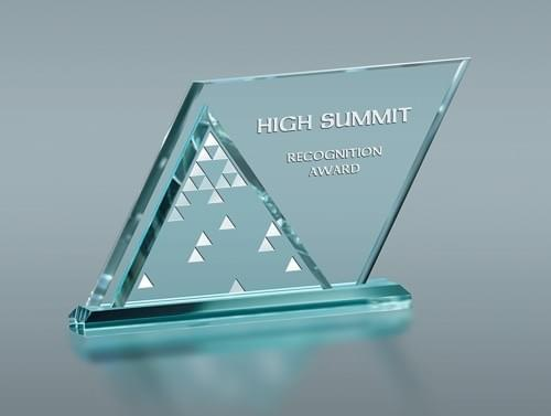 High Summit Award Trophy
