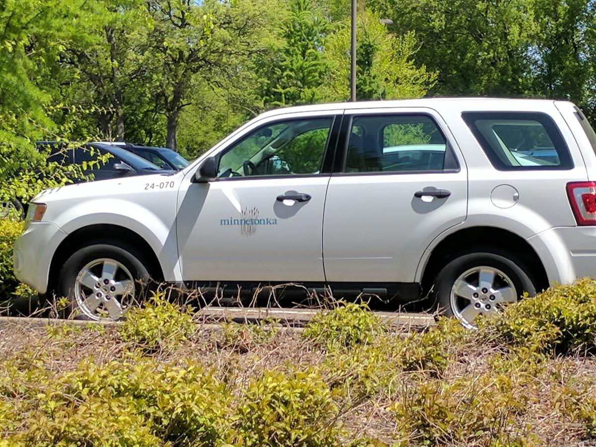 Vehicle in Minnetonka