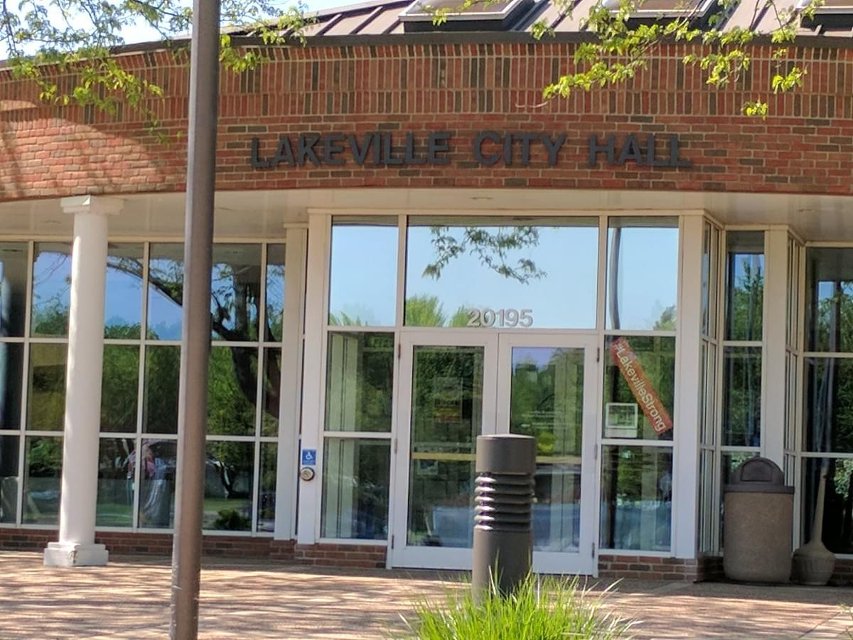 City Hall in Lakeville