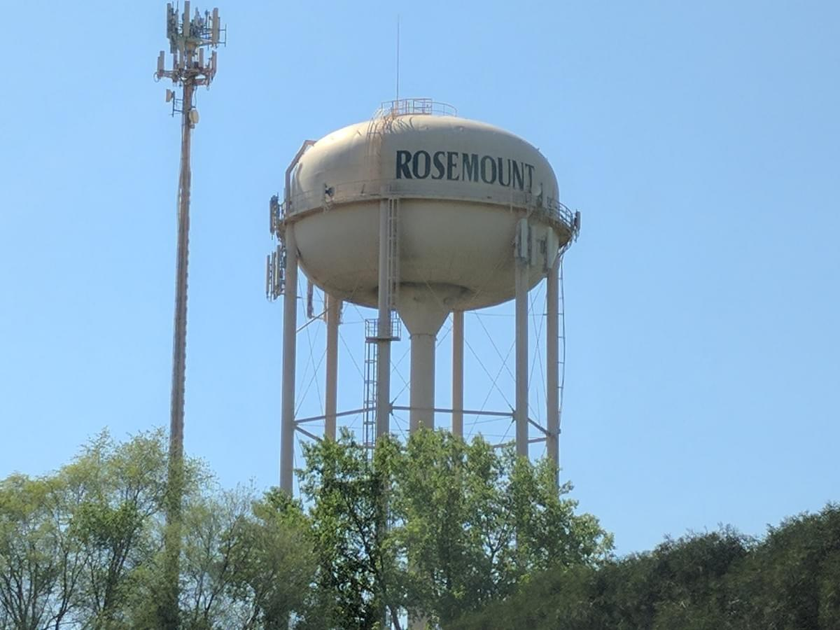 Water Tower in Rosemount
