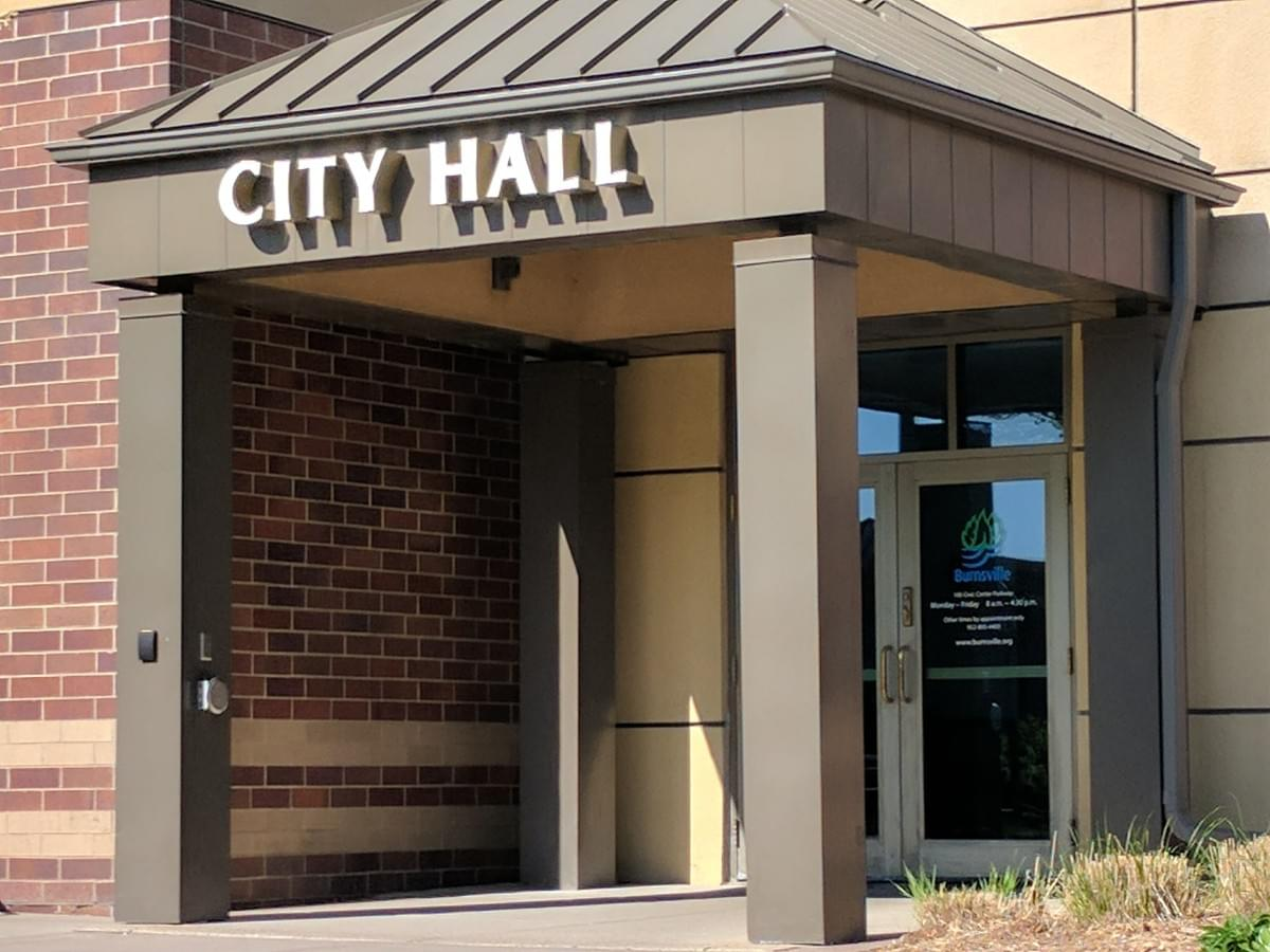 City Hall In Burnsville