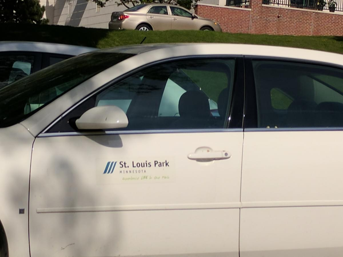 Vehicle in St. Louis Park