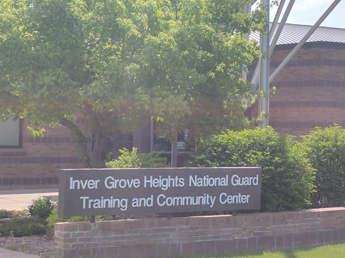 National Guard training and Community Center In Inner Grove Heigts