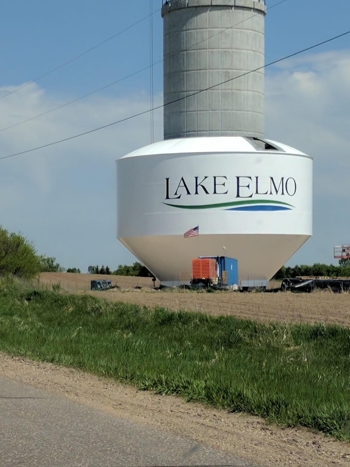 Water Tower in Lake Elmo