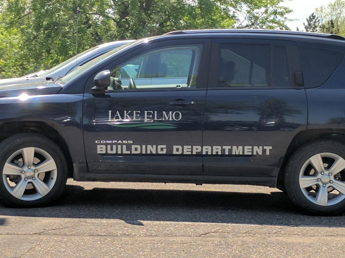 Vehicle in Lake Elmo