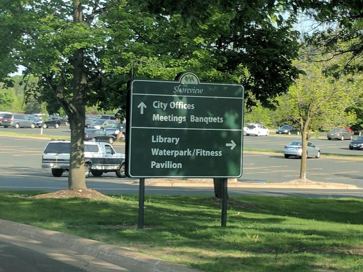 City sign in St. Louis Park