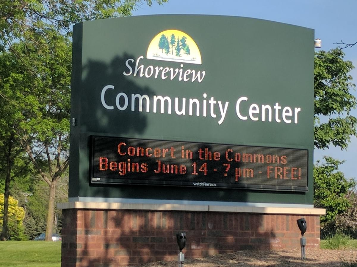Community Center in Shoreview