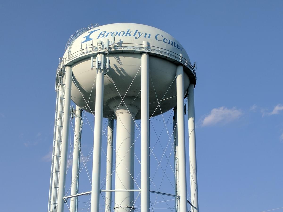 Water Tower In Brooklyn Center