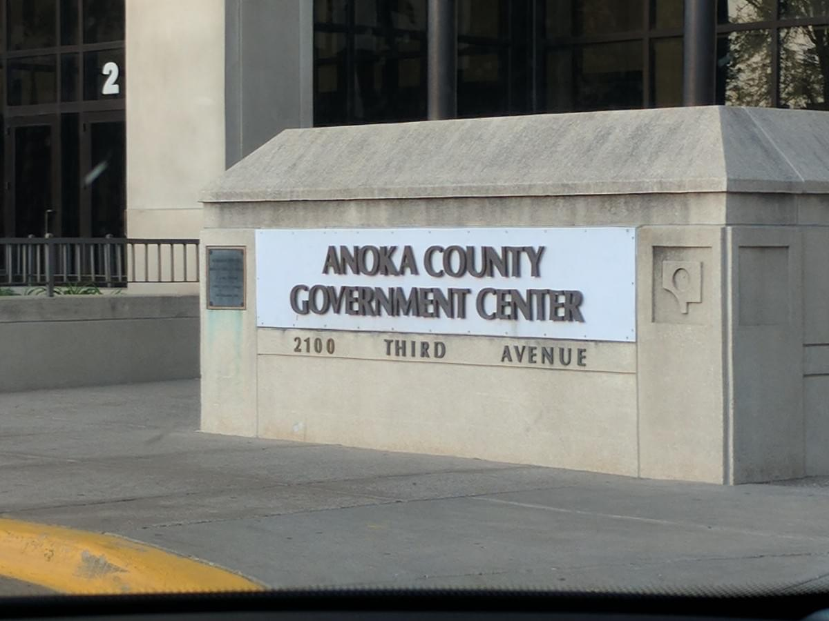 Government Center in Anoka