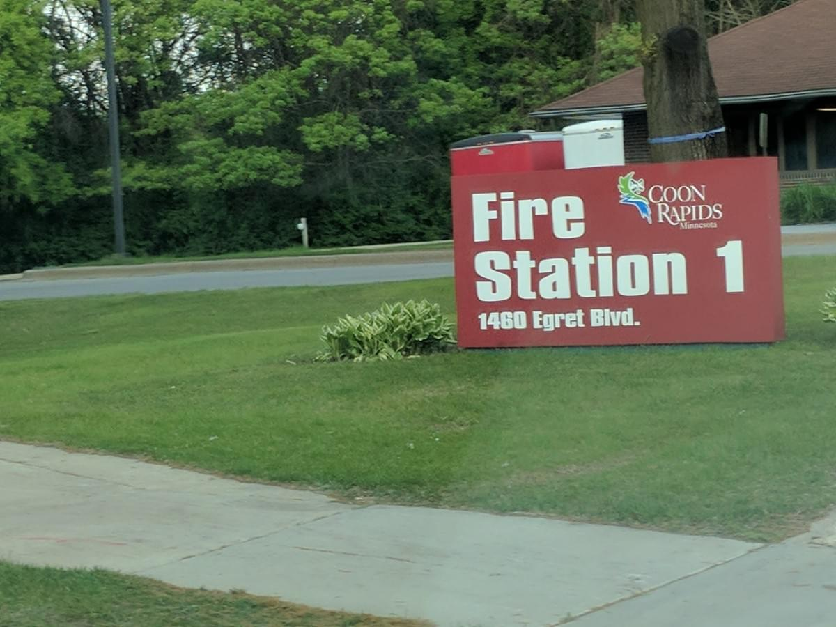 Fire Station in Coon Rapids