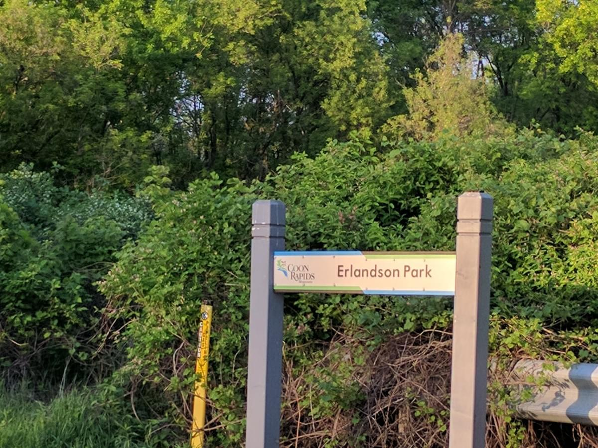 Erlandson Park in  Coon Rapids