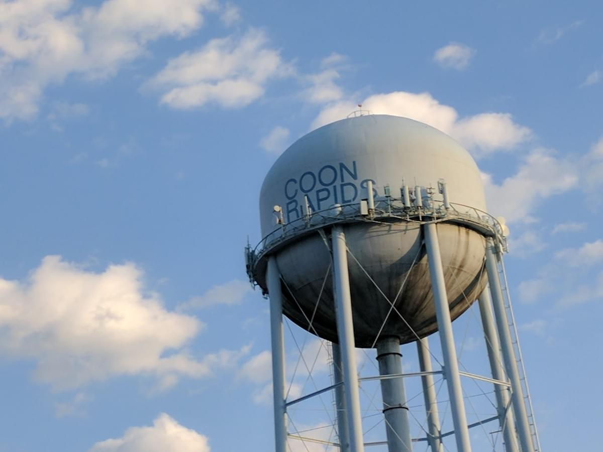 Water Tower At Coon Rapids