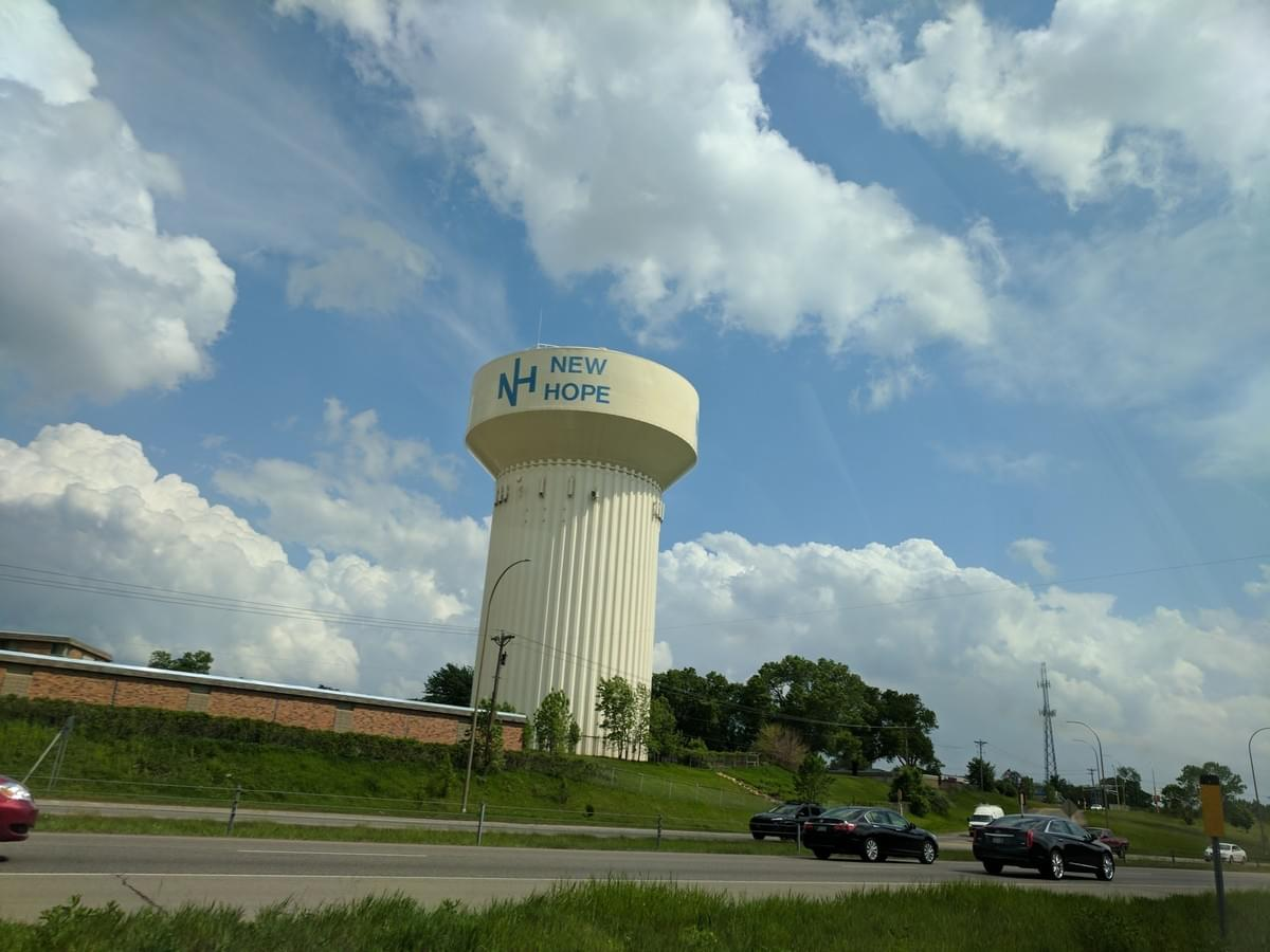 Water Tower in New Hope