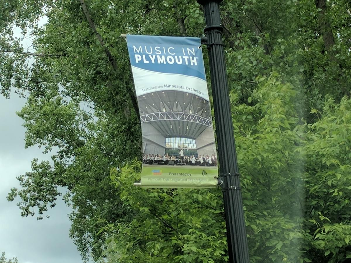 City Banner in Plymouth