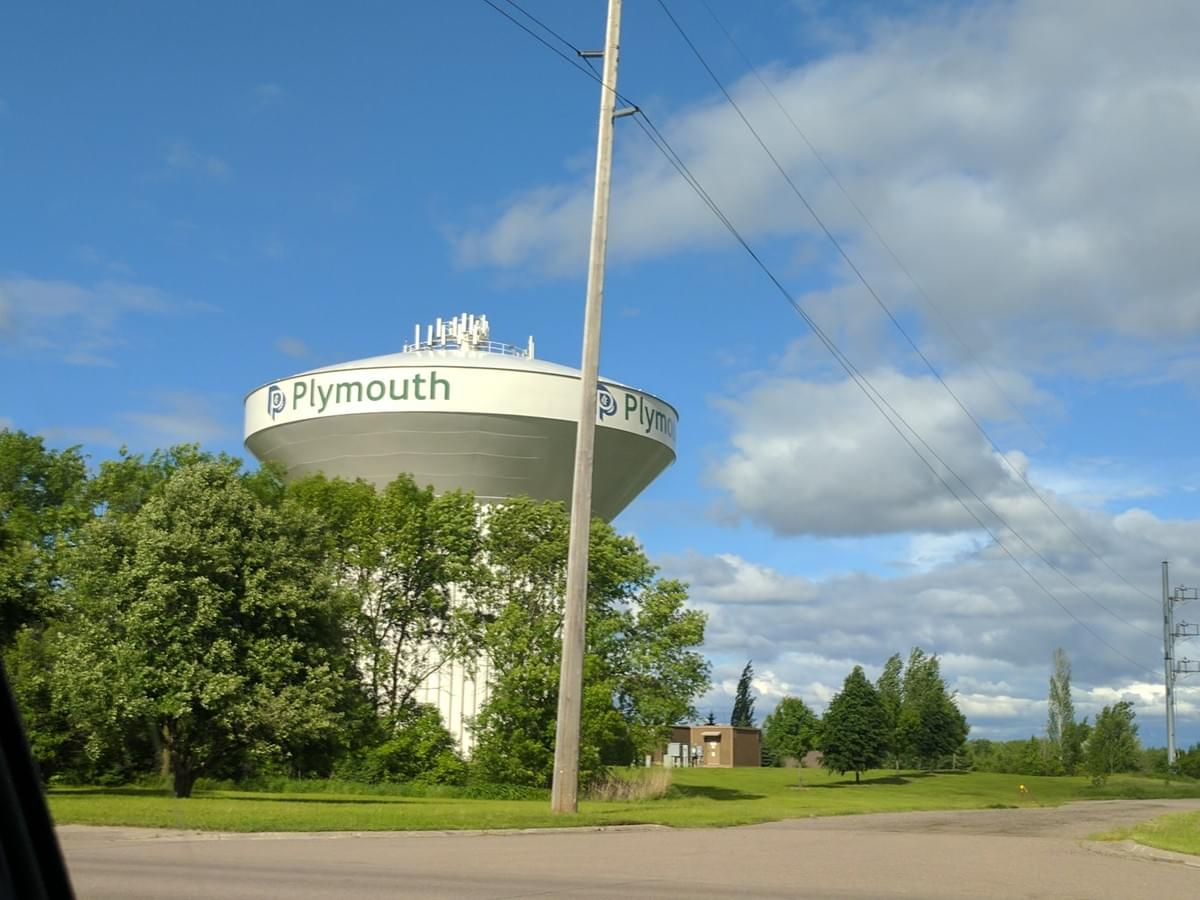 Water Tower in Plymouth