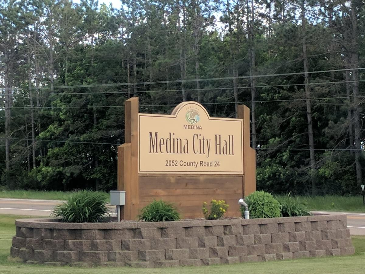 City Hall in Medina