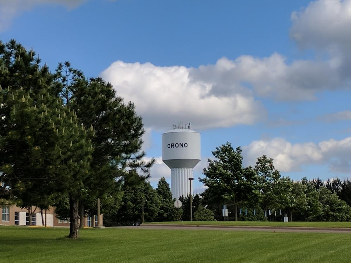 Water Tower in Orono