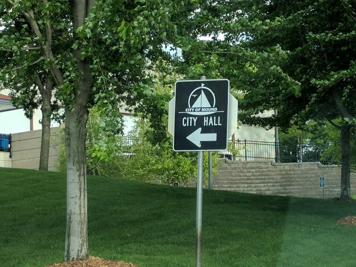 City Hall In Mound