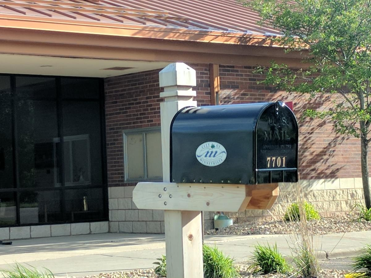 Mail Box in Minnetrista