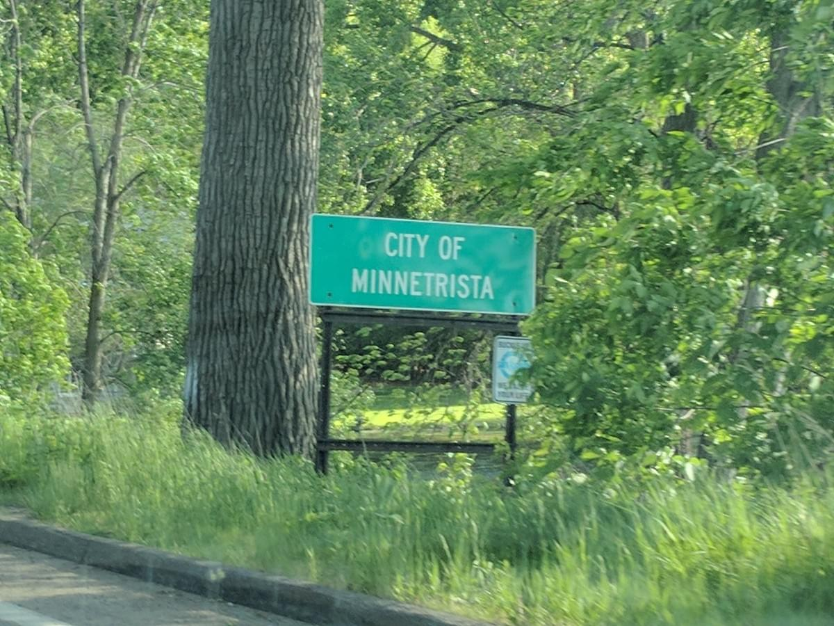 Road Sign in Minnetrista