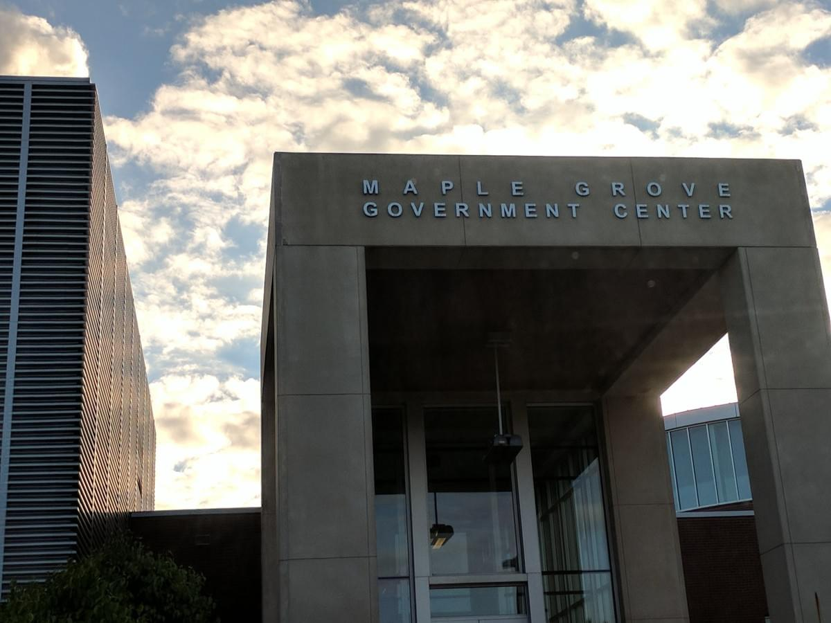 Government center in Maple Grove