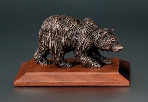 Kodiak Bear Award Trophy