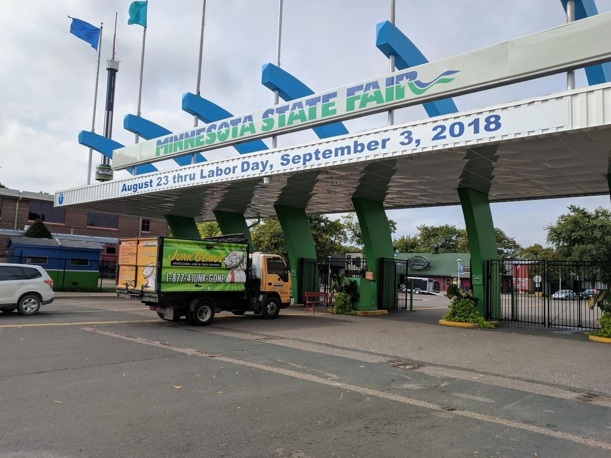 Minnesota State Fair Clean Up Junk Genius
