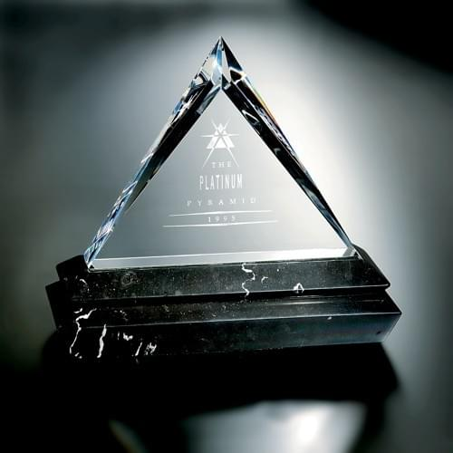 Platinum Award Award Trophy