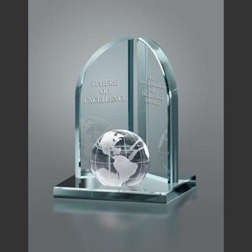 Sphere of Excellence Award Trophy