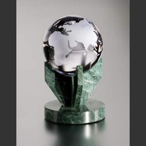World Globe Award Trophy