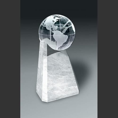 World Leader Award Trophy