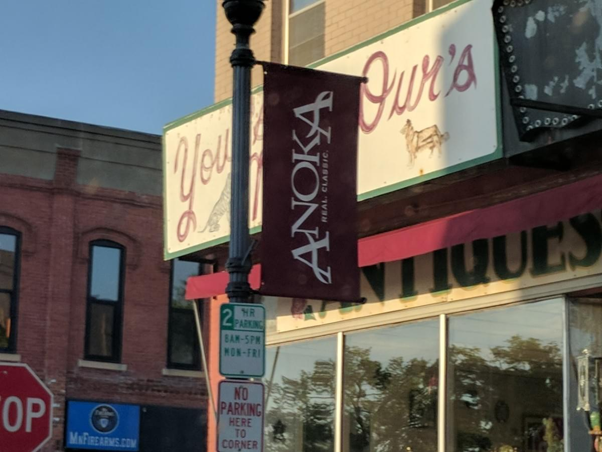 City Banner in Anoka